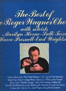 The Best of the Roger Wagner Chorale LP cover