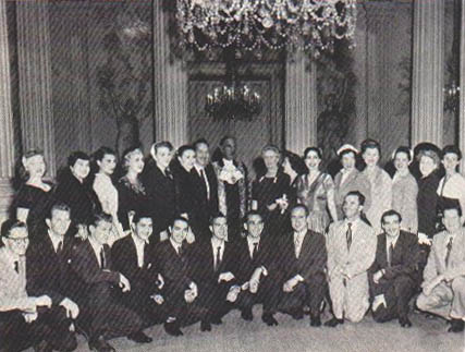 The Roger Wagner Chorale in Europe, 1953