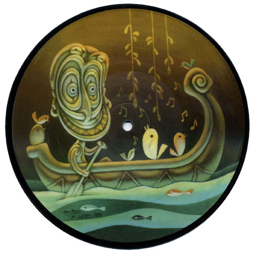 Voodoo 7inch picture disc - Side A