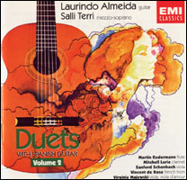 Duets with Spanish Guitar Volume 2 front cover