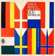 Folk Songs of the Old World front cover
