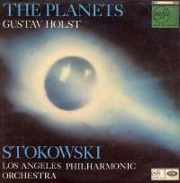Holst: The Planets - front cover (MFP LP)