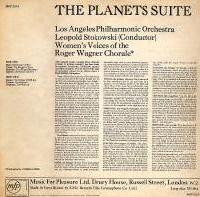 Holst: The Planets - back cover (MFP LP)