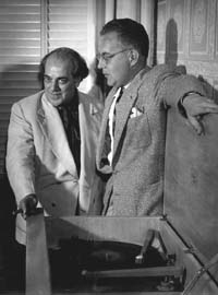 Heitor Villa-Lobos and Robert E Myers