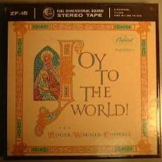 Joy to the World reel-to-reel cover