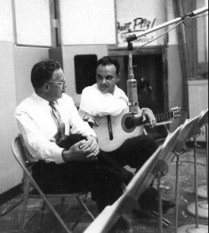 Laurindo Almeida with Robert E Myers