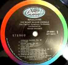 Reflections label 1 (Capitol stereo LP)