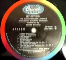Reflections label 2 (Capitol stereo LP)