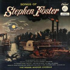 Songs of Stephen Foster - Capitol album cover
