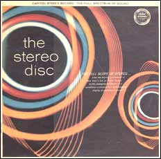 The Stereo Disc - Capitol album cover - front