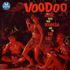 US Tops Voodoo album front cover